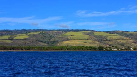 kauai: Hills along the west coast of Kauai Island, Hawaii Stock Photo