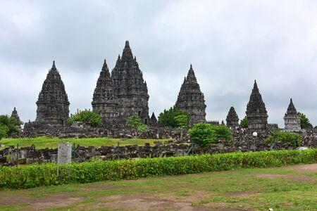 prambanan: Majestic Prambanan temple, a UNESCO World Heritage site in Central Java, Indonesia