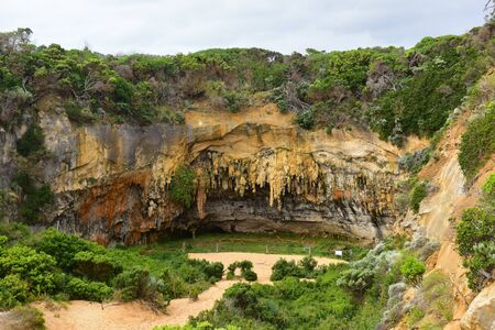 ard: Loch Ard Gorge rock formations in Port Campbell, Victoria, Australia