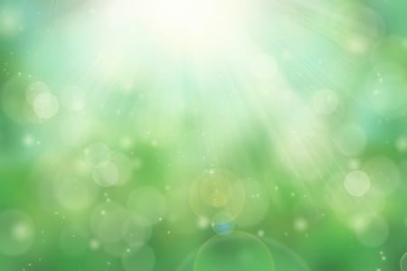 Natural abstract bokeh background with sunlight Stock Photo - 10602325