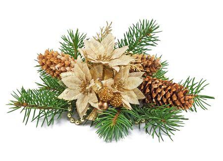 christmas decoration on a white background  Stock Photo