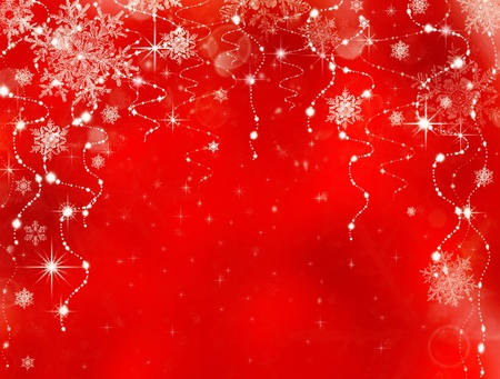 holiday border: Abstract Christmas background. Holiday abstract as background Stock Photo