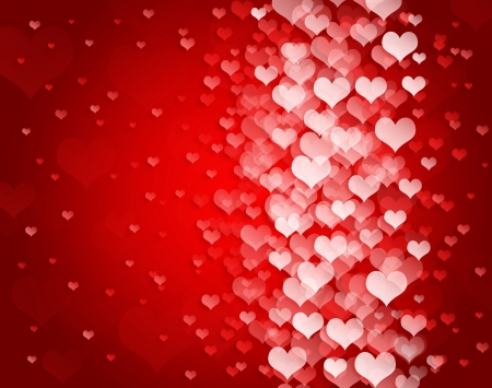 Abstract background to the Valentine