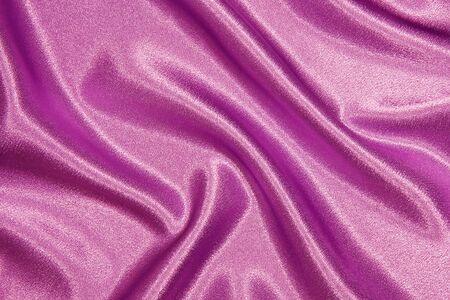 tela seda: Tela de seda rosa con pliegues, como fondo