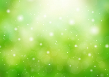 background nature: Sunny abstract green nature background