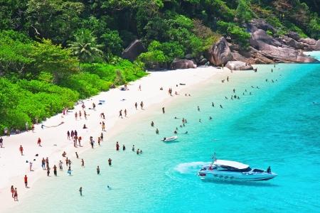 similan islands: Top view of Similan island. Thailand Editorial