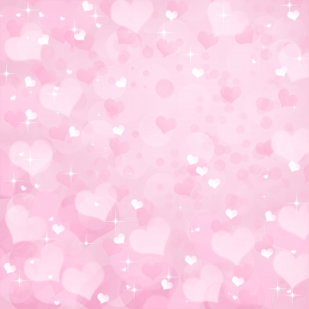 Valentine's day background with  bokeh lights 스톡 콘텐츠