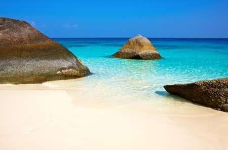 phuket province: Similan islands, Thailand, Phuket. Stock Photo