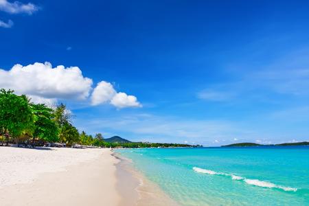 Chaweng 해변, 코 사무이 (사무이 섬), 태국보기 스톡 콘텐츠 - 40047525