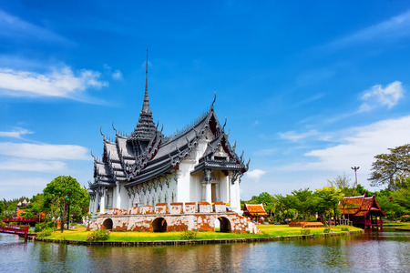 Sanphet Prasat Palace, Oude Stad, Bangkok, Thailand