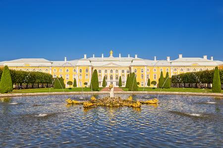 peterhof: Peterhof Palace, St. Petersburg, Russia