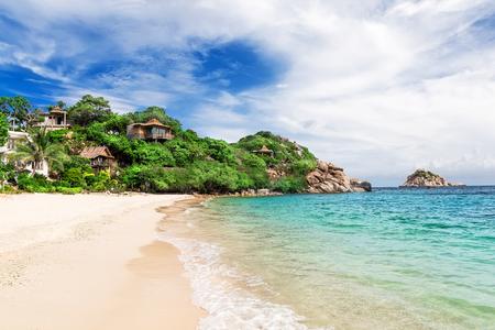 phangan: Beautiful beach on Koh Tao, Thailand