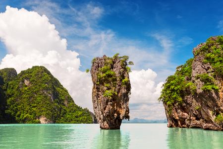 Famous island near Phuket in Thailand