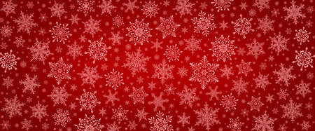 Decorative Christmas background with bokeh lights and snowflakes. Christmas and Happy New Year blue background with snowflake.