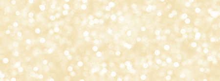 Decorative Christmas background with bokeh lights. Christmas and Happy New Year golden background with snowflake. 스톡 콘텐츠