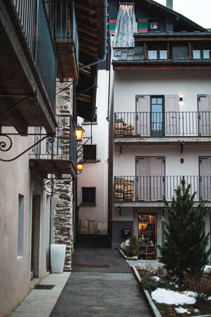 Small town in French Alps called Megeve.