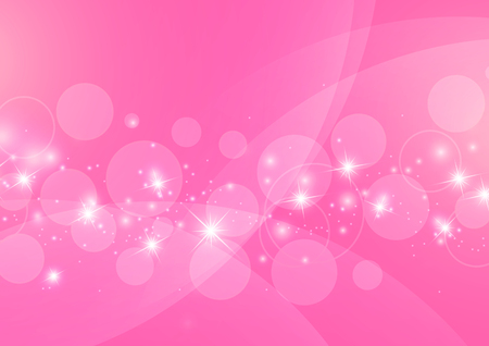 Bright Abstract Pink Background, Vector Illustration
