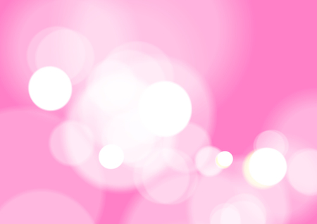 Abstract Bokeh Light on Pink Background, Vector Çizim