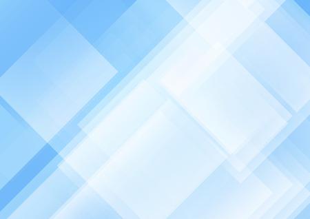Ilustración de vector de fondo azul abstracto