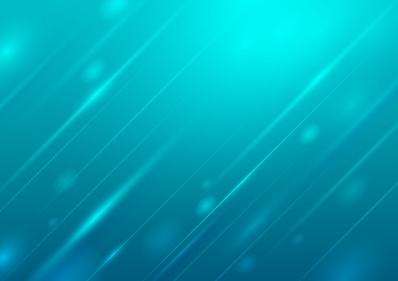 Abstract blue background with lighting, Vector illustration