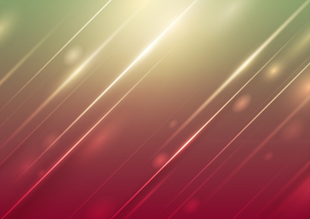 Abstract light on colorful background, Vector illustration Ilustrace
