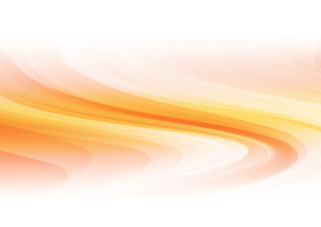 Abstract shapes on orange background. Vector illustration