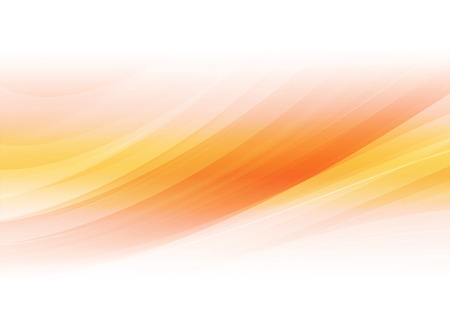 Abstract shapes orange background. Vector illustration