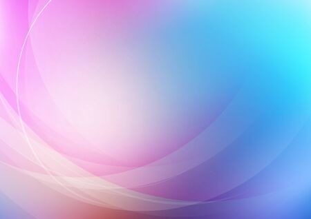 Curved abstract on colors background. Vector