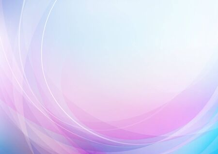Abstract curved with colors background. Vector