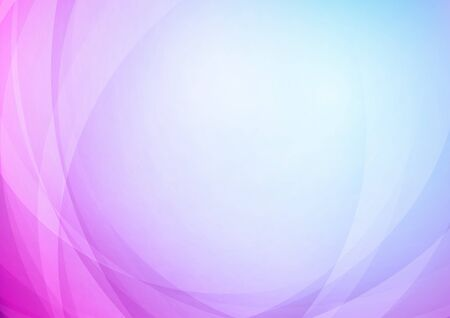 Curved abstract colors background. Vector
