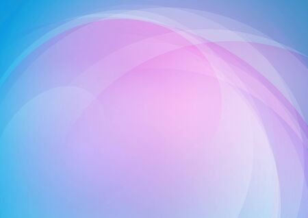 Abstract curved colors background. Vector Eps10