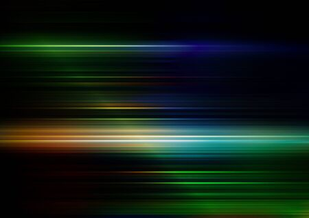 Abstract speed lines with colors background. Vector Eps10