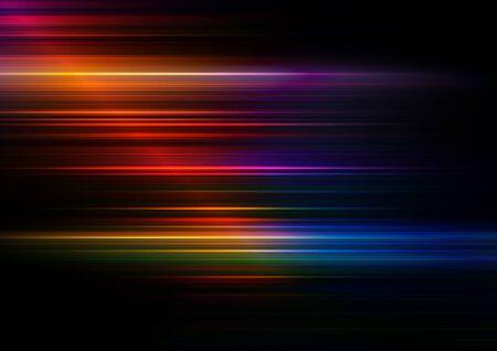 Abstrakcyjne linie prędkości z kolorowym tłem. Wektor Eps10