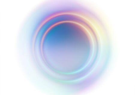 Abstract circles blurred colors background. Vector Eps10