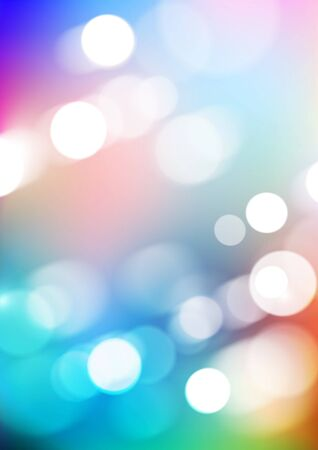 Bokeh light with blurred colors background. Vector Eps10
