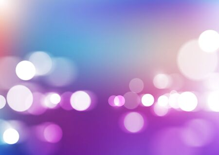 Bokeh lights with blurred colors background. Vector Eps10