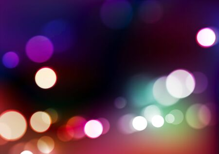 Abstract bokeh lights background. Vector Eps10  イラスト・ベクター素材