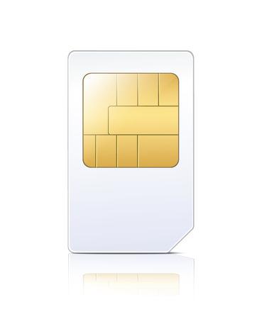sim card: SIM Card  Illustration