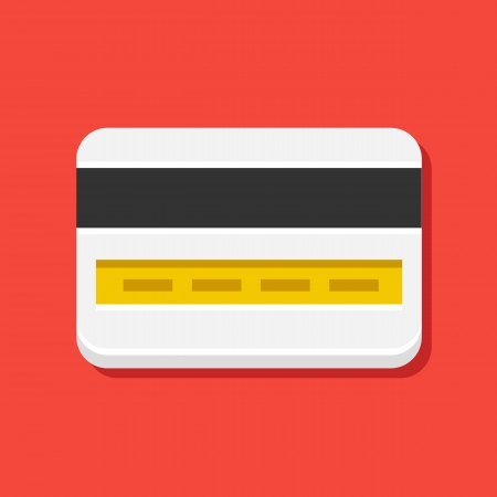 payment icon: Vector Credit Card Icon  Illustration