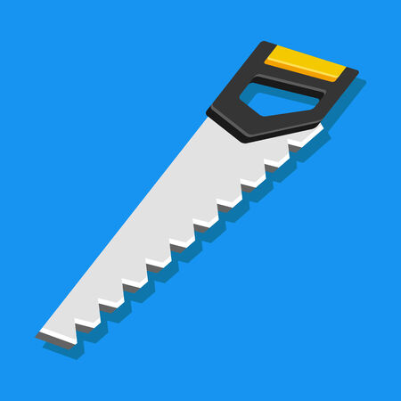 crosscut: Vector Hand Saw Icon