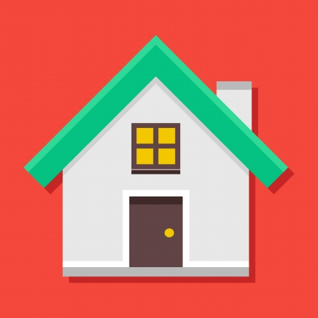 Vector Home Icon Illustration