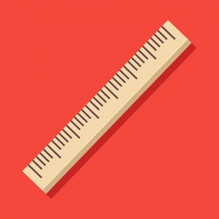 Vector Ruler Icon Vector