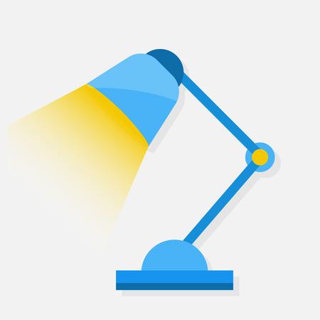 Vector Tafellamp Icon Vector Illustratie