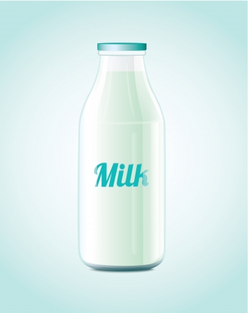 milk bottle: Milk Bottle  Illustration