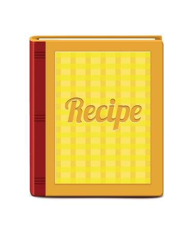 cooking book: Recipe Book Illustration