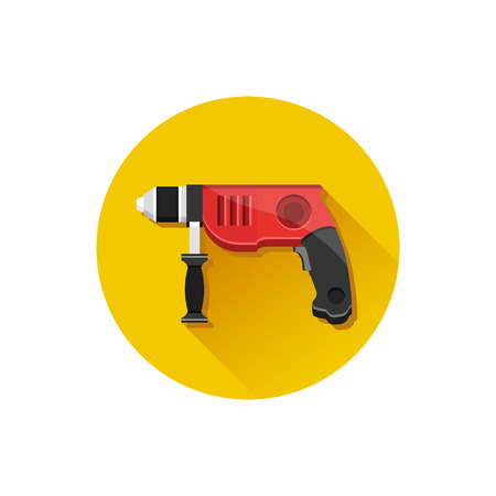 puncher: Vector Icon Drill