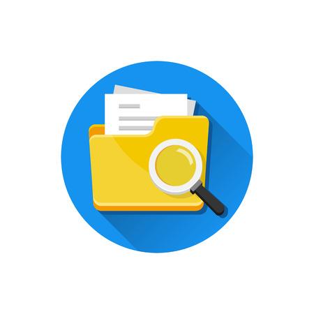 Vector File Search Icon Stock Vector - 26167831
