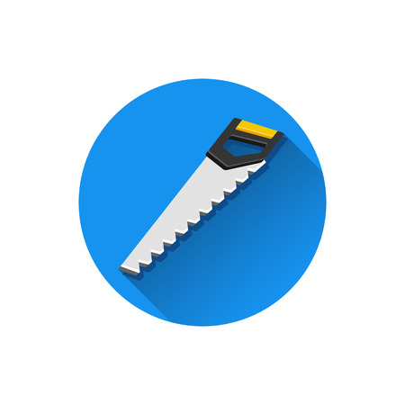 handsaw: Vector Hand Saw Icon