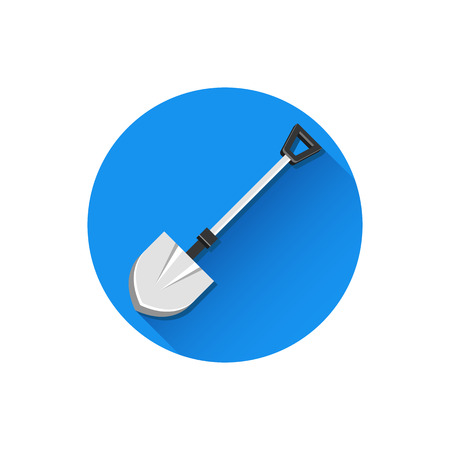 Vector Shovel Icon Stock Vector - 26167992
