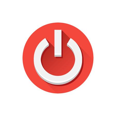 Vector Shut Down Icon